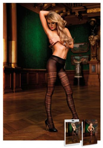 Jacquard Tights (Baci 428)